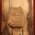 известняк, сосна 14в.,  32 х 25 см