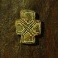 известняк, крест 3,8 x 2,9 см