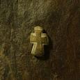 известняк, крест 3.1 x 1.9 см
